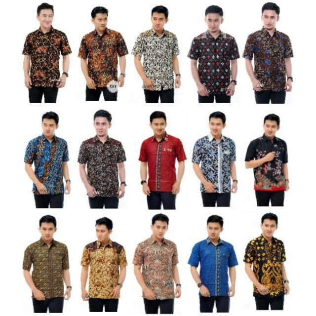 Kemeja Hem Batik Terviral Original No Kw Ready Uniform