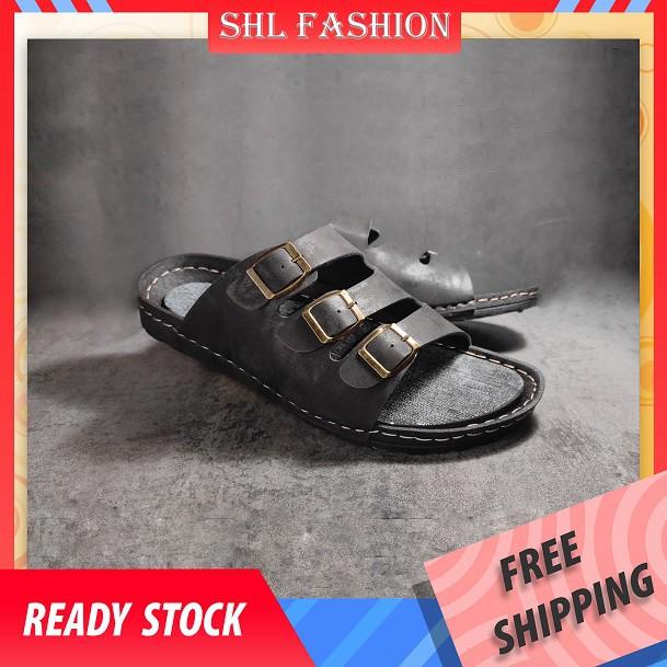 SHL Men Sewing Sandal Slippers Jarum Jahit Kasut Selipar Sandal Lelaki-116