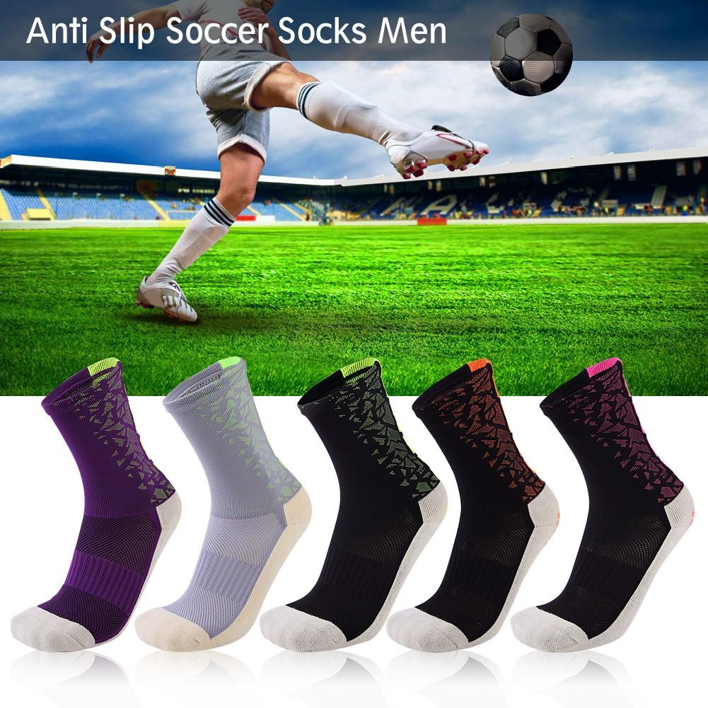 d5d01eca8 【Free Shipping】Men Male Sport Socks Anti Slip Soccer Socks Cotton Football  Socks | Shopee Malaysia
