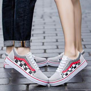 70bde39998 Korean-style women casual smile shoes lace-up flat Sneakrs shoes ...