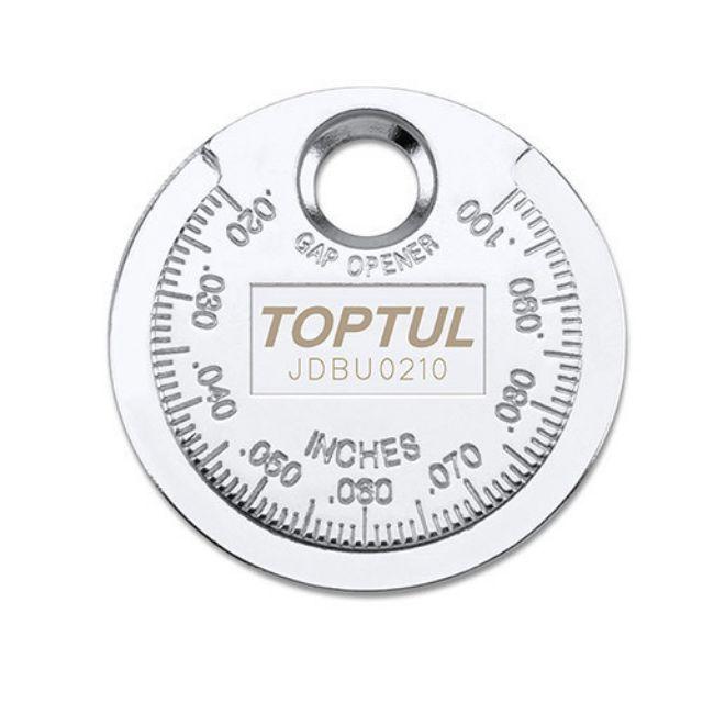 TOPTUL JDBU0210 Spark Plug Gap Gauge (Coin Type)