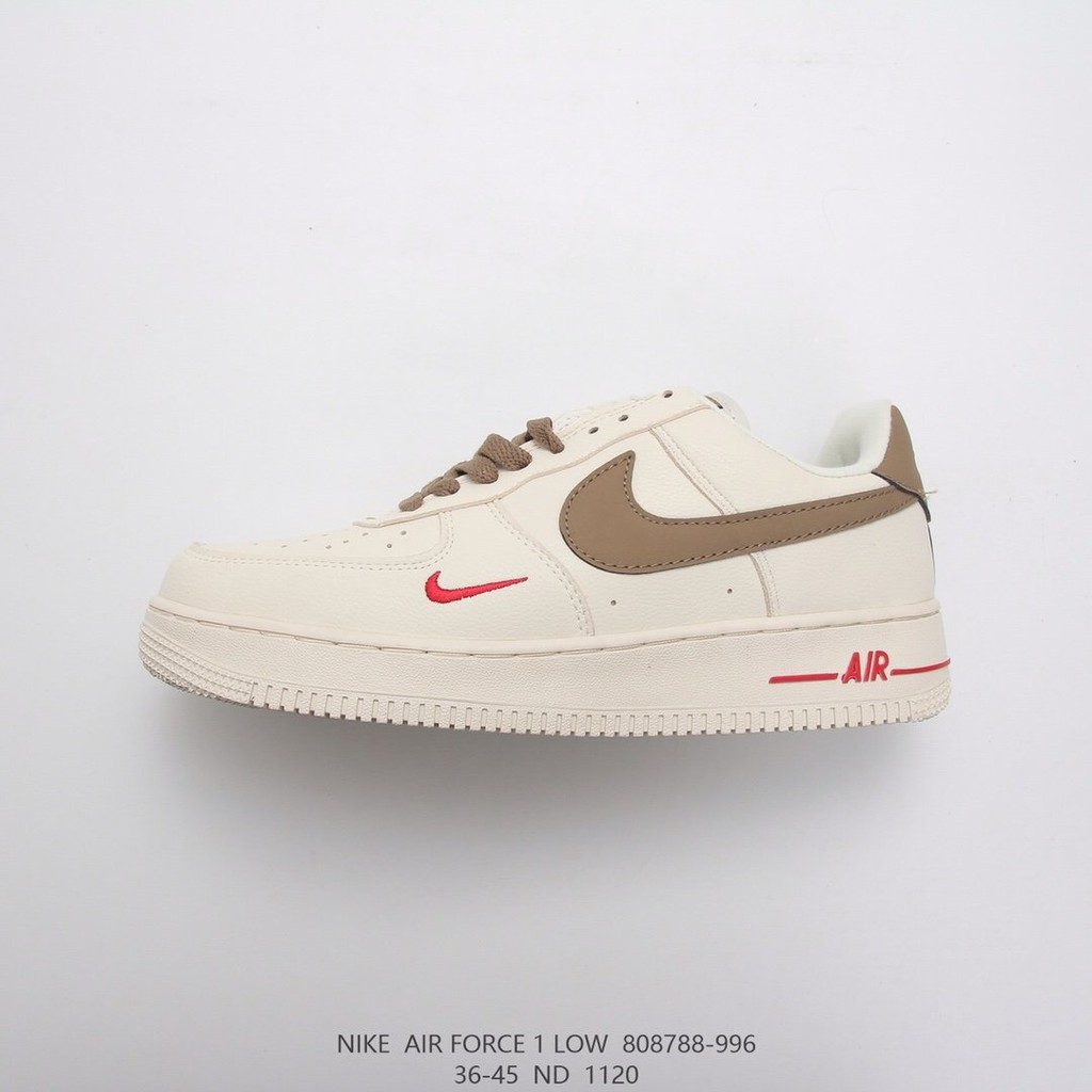 nike air force 1 air force one milk coffee af1 low help board shoes running shoe