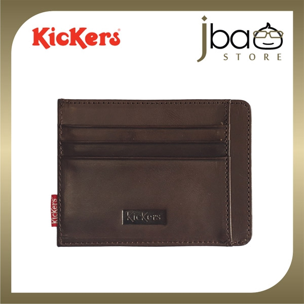 Kickers KIC87102 Leather Pocket Wallet Credit Access T&G Card Holder