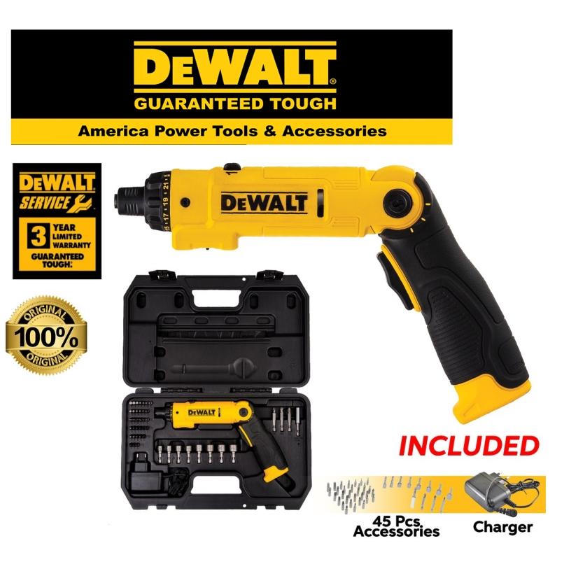 DEWALT DCF008-B1 SCREWDRIVER 8V 1/4 LITHIUN-ION SCREWDRIVER EASY USE SAFETY GOOD  QUALITY