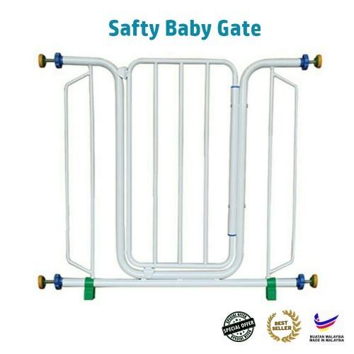 Baby Gift Safety Baby Gate Pagar Besi Kanak Kanak Pintu Pagar Pengaman