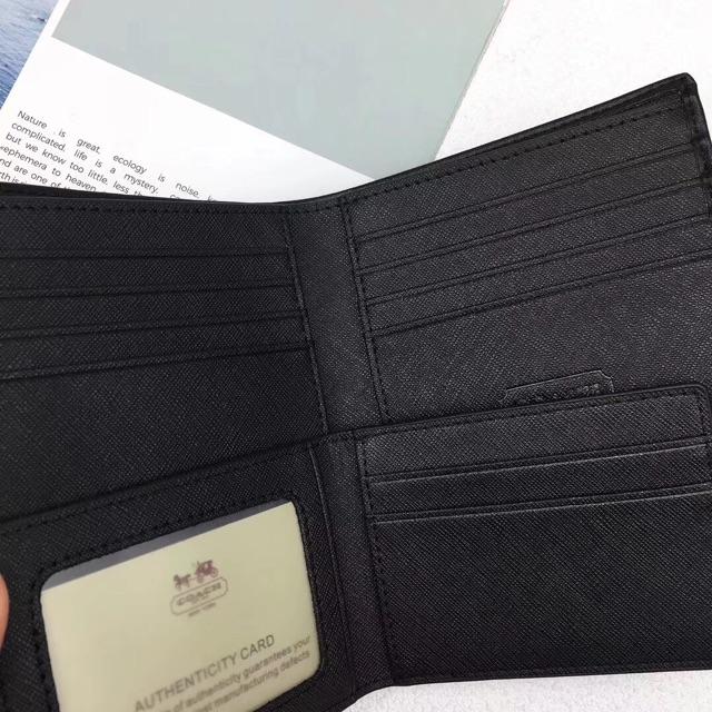 Coach Wallet Men's / Wallet Lelaki   Shopee Malaysia