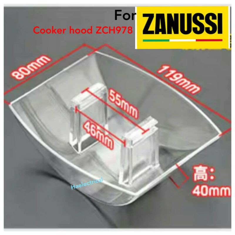 oil cup for zanussi ZCH978 cooker hood