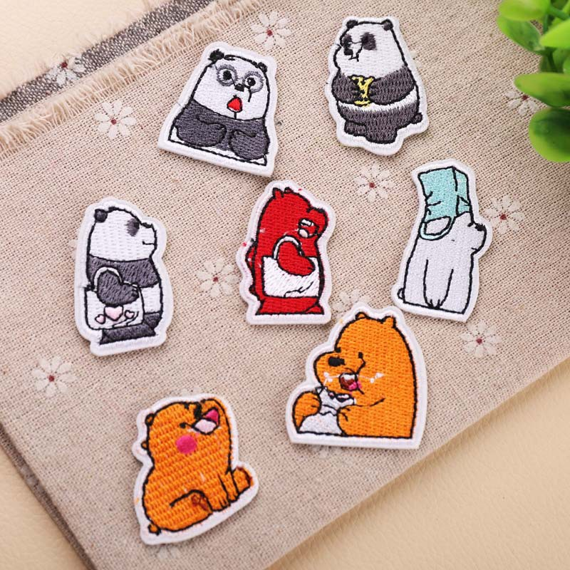 Red Ball Cartoon Animation Insect catching Ball Logo Patch ...