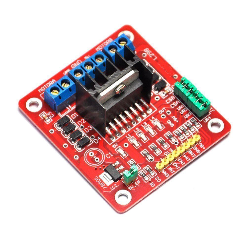 L298N Dual H Bridge Stepper Motor Driver Controller Board Module **