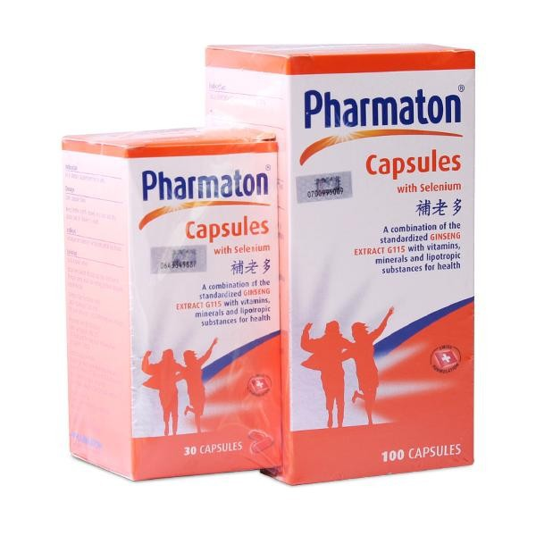 Pharmaton Multivitamin with Ginseng 100+30s [Vitamin for Energy]