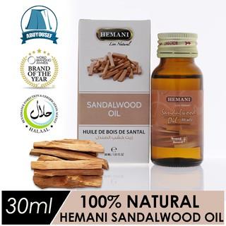💯% Pure Cold-pressed Hemani Sandalwood Oil | Minyak Kayu