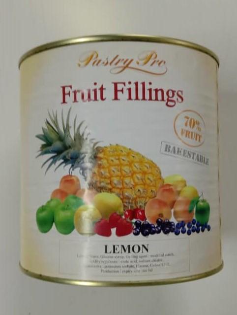 PastryPro Fruit Fillings Lemon- 70% Fruit- (540g)