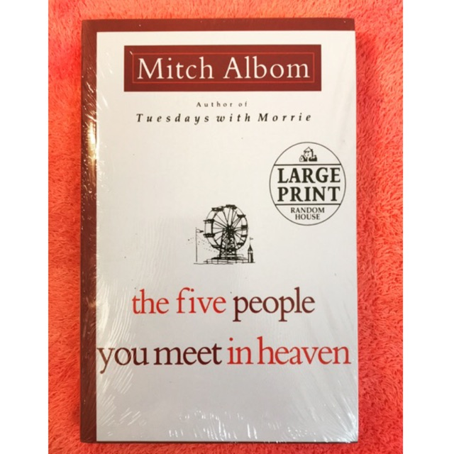 【Ready Stock】The Five People You Meet In Heaven