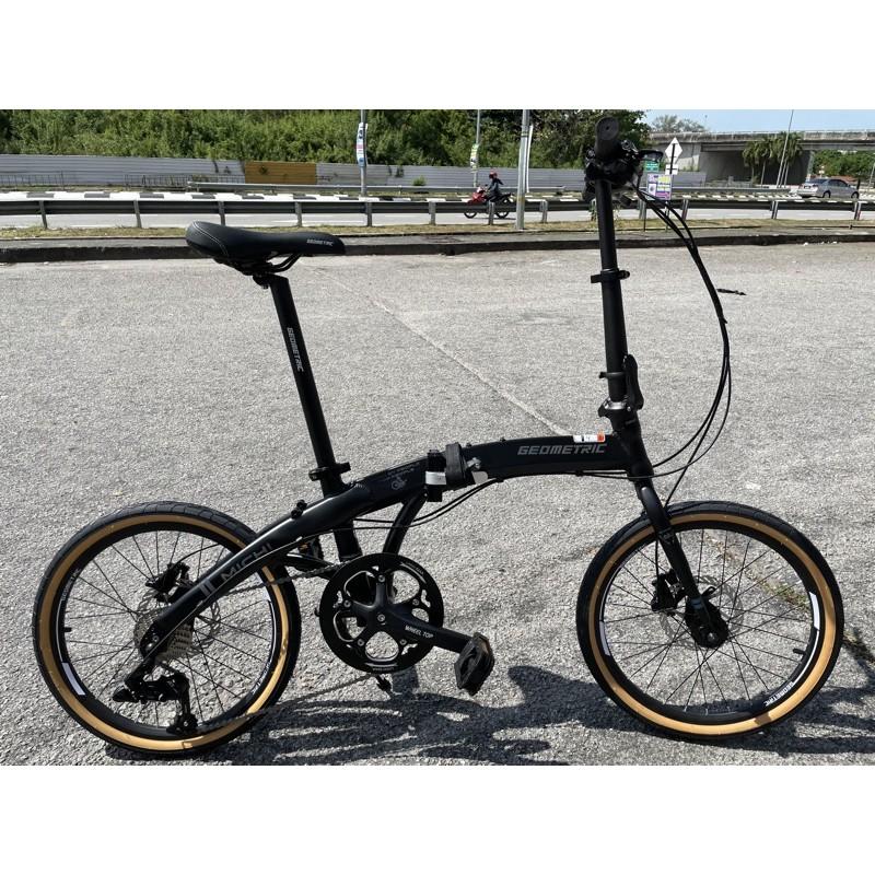 Geometric Michi Folding Bike 10spd V3