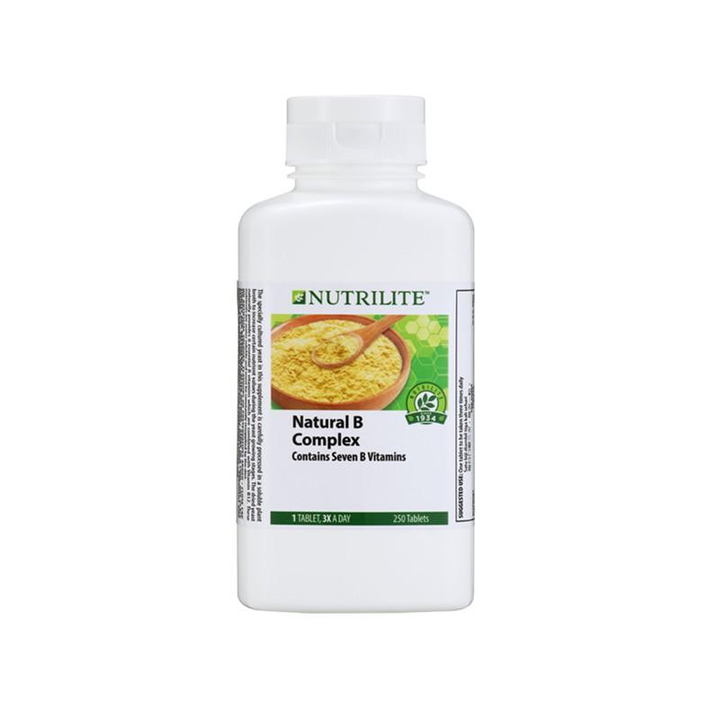 AMWAY NUTRILITE Natural B Complex (250 tab) - Vitamin B