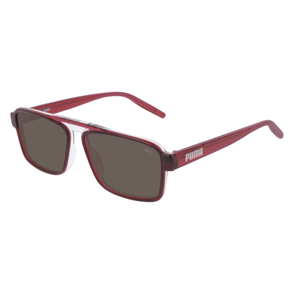 Puma Sunglasses Model PU0251S-004 Grey-Red-Brown