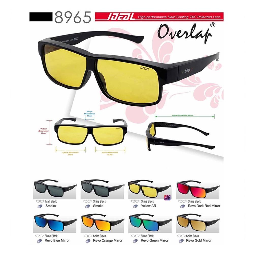 422a1d155e2 Original IDEAL 8975P Fit Over Overlap Polarized Sunglasses