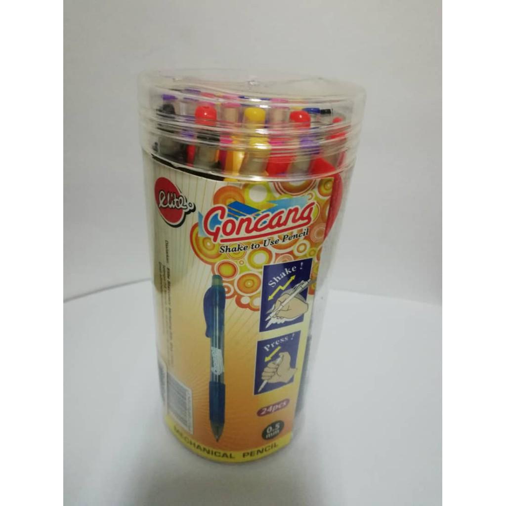 Elite Goncang Mechanical Pencil Shake 0.5mm 24pcs