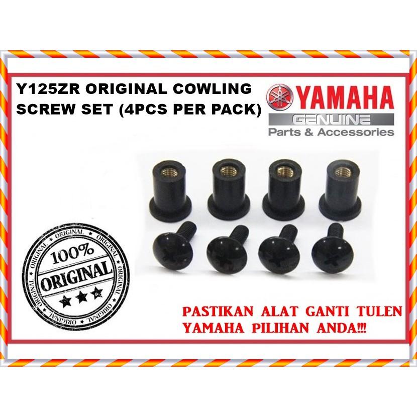 YAMAHA Y125ZR ORIGINAL COWLING SCREW SET