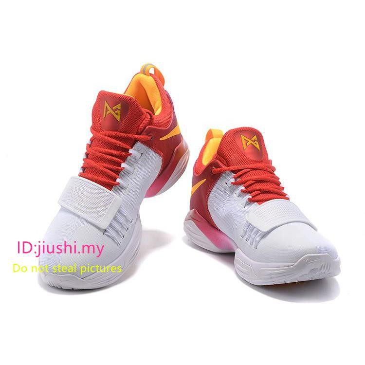 separation shoes bf655 77b2e ... usa paul george nike pg 1 hickory high pe team red white gold shopee  malaysia e12f5