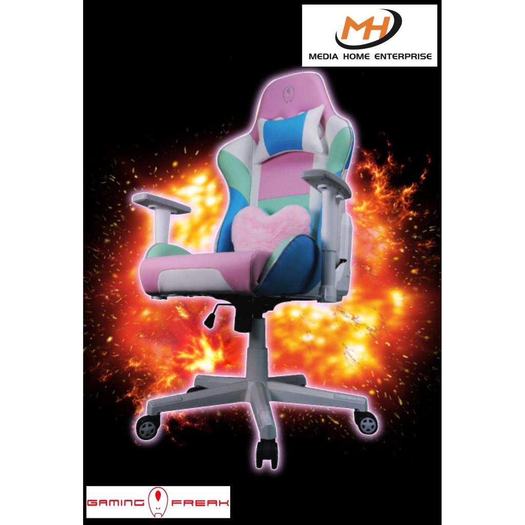 Gaming Freak Gaming Chair Trixie Throne - Cute, Colourful, Ergonomic, PU Leather