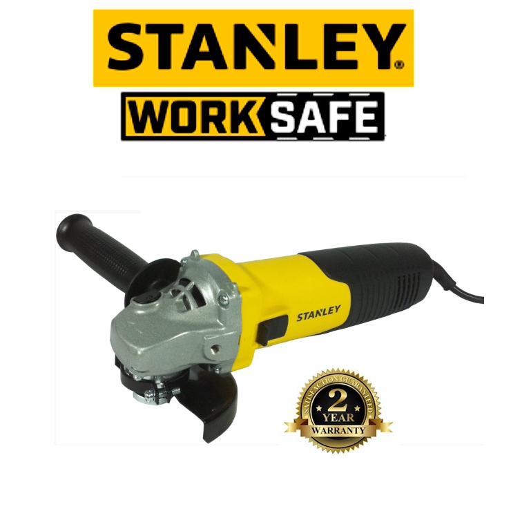 STANLEY STGS8100 4'' GRINDER 100MM 850W SMALL ANGLE GRINDER 11,000RPM  EASY USE SAFETY GOOD  QUALITY