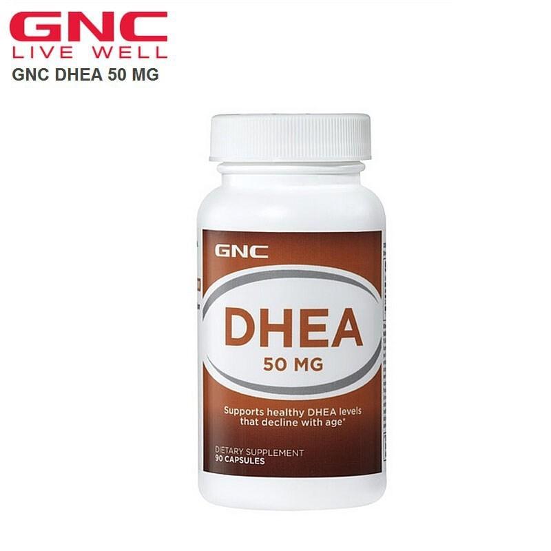 GNC DHEA 50mg 90 Capsules