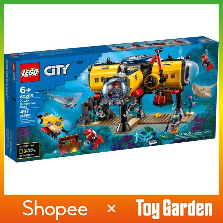 LEGO City 60265: Ocean Exploration Base   Shopee Malaysia