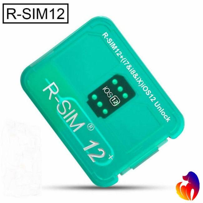 RSIM 12+ Plus 2019 R-SIM Nano Unlock Card fits iPhone X/8/7/6/6s 4G iOS 12 3