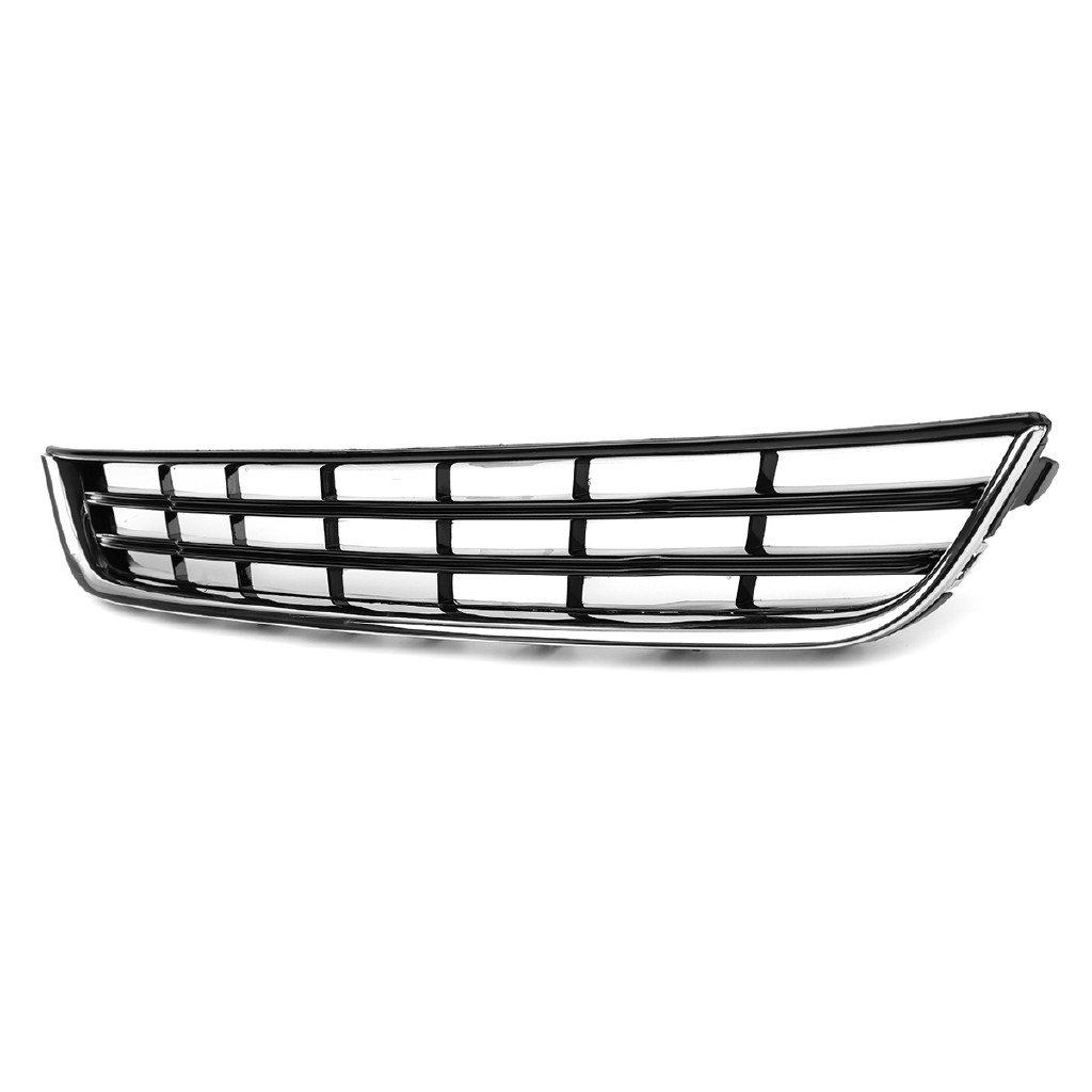 NEW FORD FIESTA 2013-2016 CHROME BLACK FRONT BUMPER LOWER CENTER GRILL GRILLE
