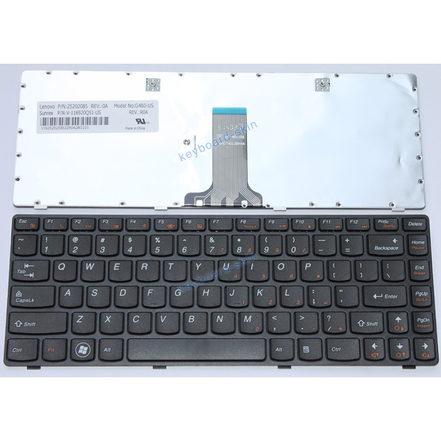 Compatible NEW IBM LENOVO Ideapad Z380 Z480 Z485 G490 G405 Laptop Keyboard