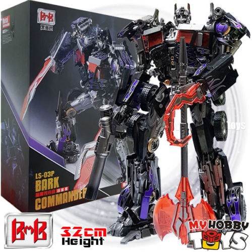 New  Black Mamba Transformers LS-03 LS03 Optimus Prime Oversized MPM-04 Figure