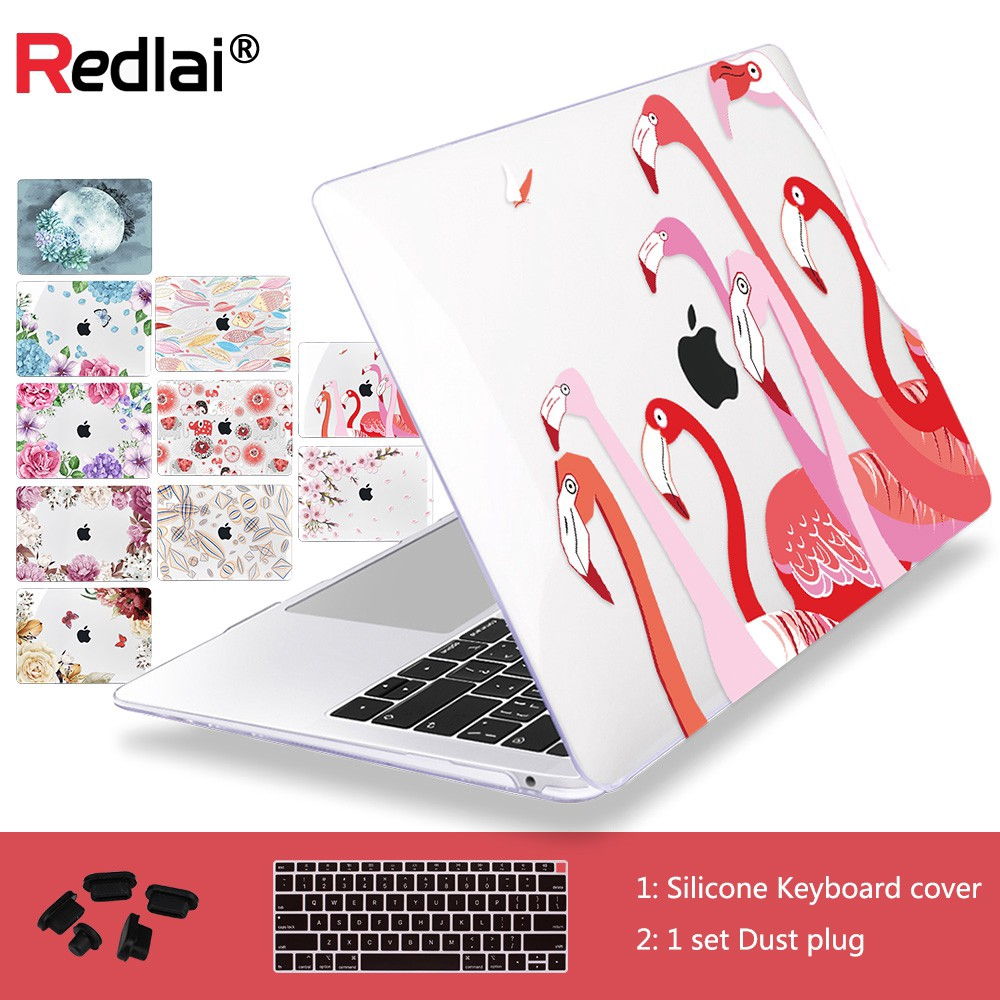 """Summer Flower Print Pink Silicone Keyboard Cover for Macbook Air 11/"""" A1465"""