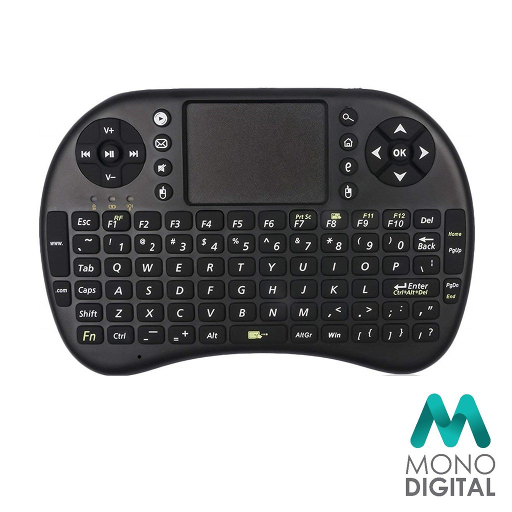 Mini Wireless Keyboard 2 4G with Touchpad Handheld Keyboard for PC Android  TVBox