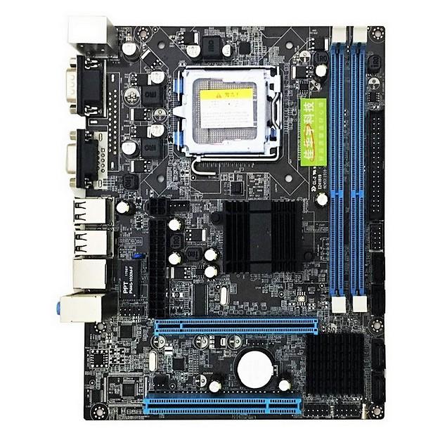 G41 Desktop Computer Motherboard LGA 775 DDR3 Support Dual Core Quad CPU