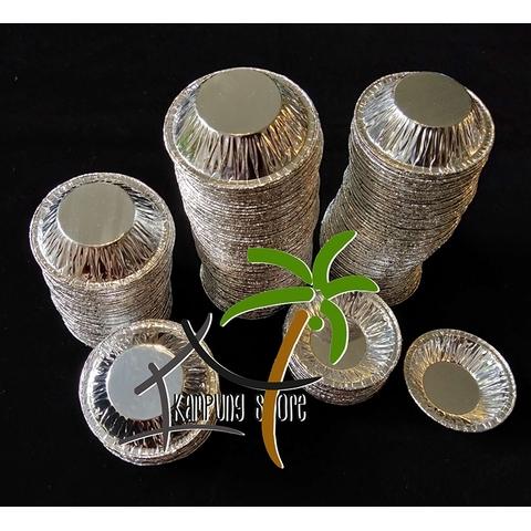 Diposable Aluminium Round Baking Foil (6cm)