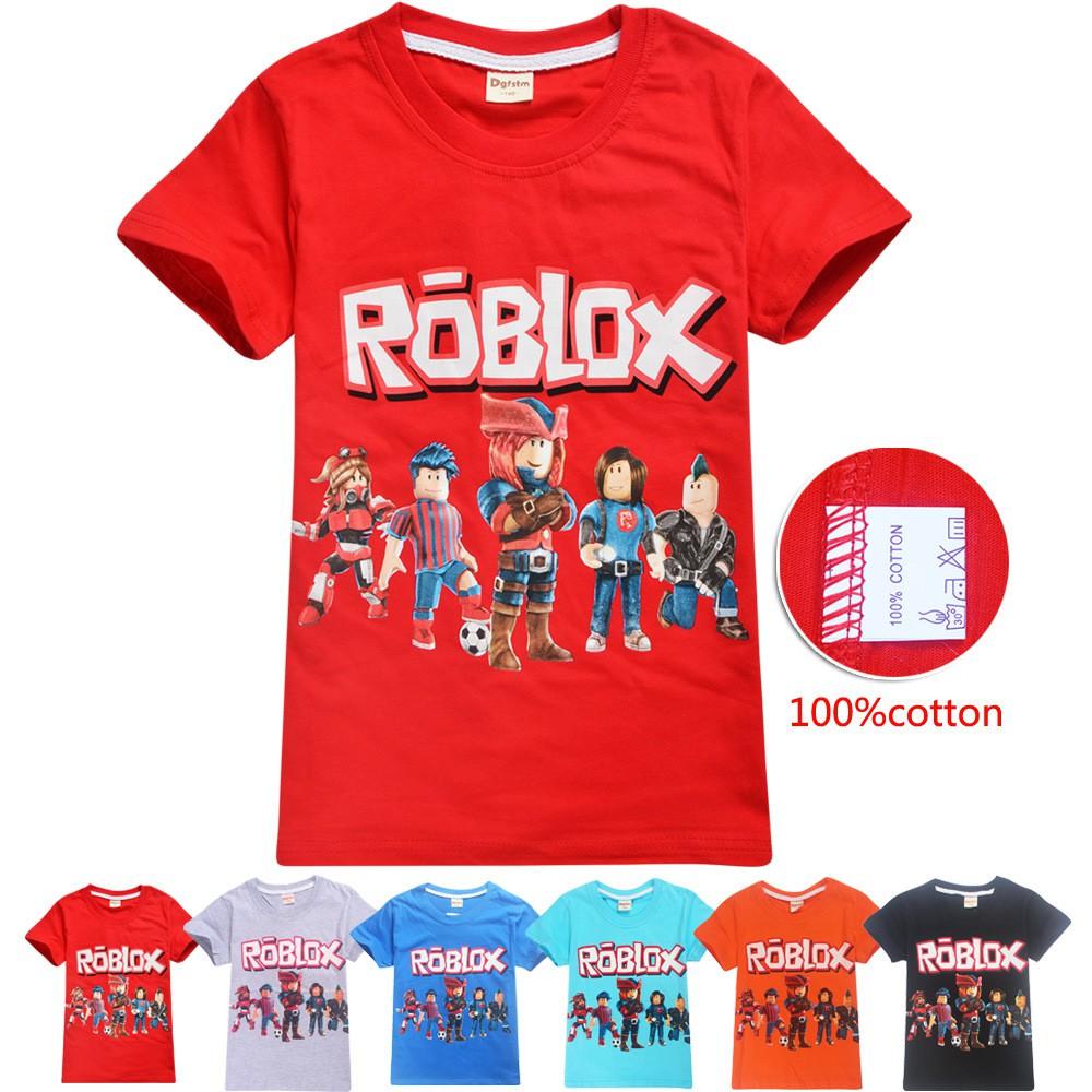 Baju Team Malaysia Roblox Roblox Boys T Shirt Lego Cartoon Print Kids Tops Christmas Shirt New Years Tees Big Boy Clothes Shopee Malaysia