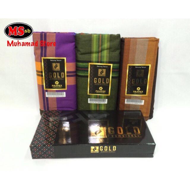 Part 2 Kain Pelikat Cap Mangga Gold / Pelikat Brand Mangga Gold