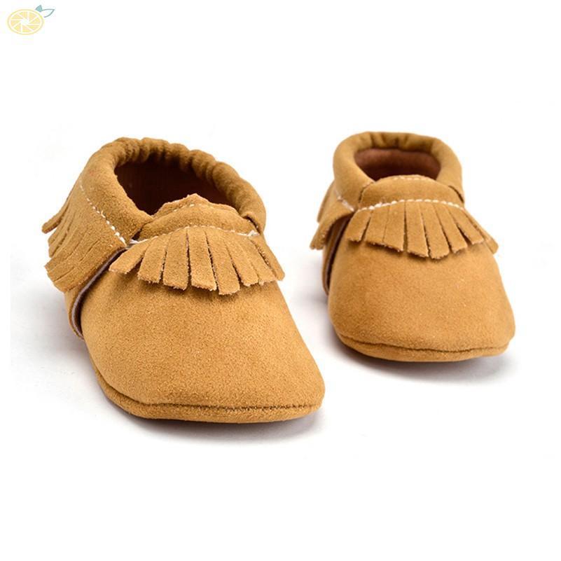 fcdf3a0ea8d Kids Boy Girl Baby Shoes Infant Toddler Tassel soft sole prewalker ...