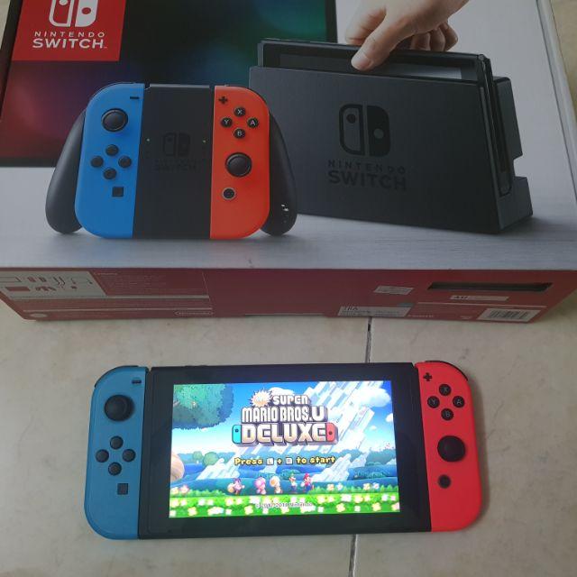 Nintendo Switch Used Modded Jailbreak Set