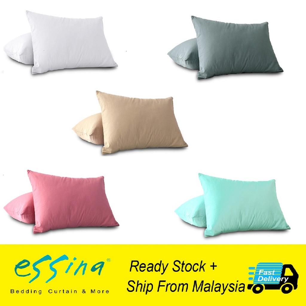 "2PCS Luxury Soft Pillow Case Cover USA Queen Size Pillowcase 20/"" x 30/"" Black"