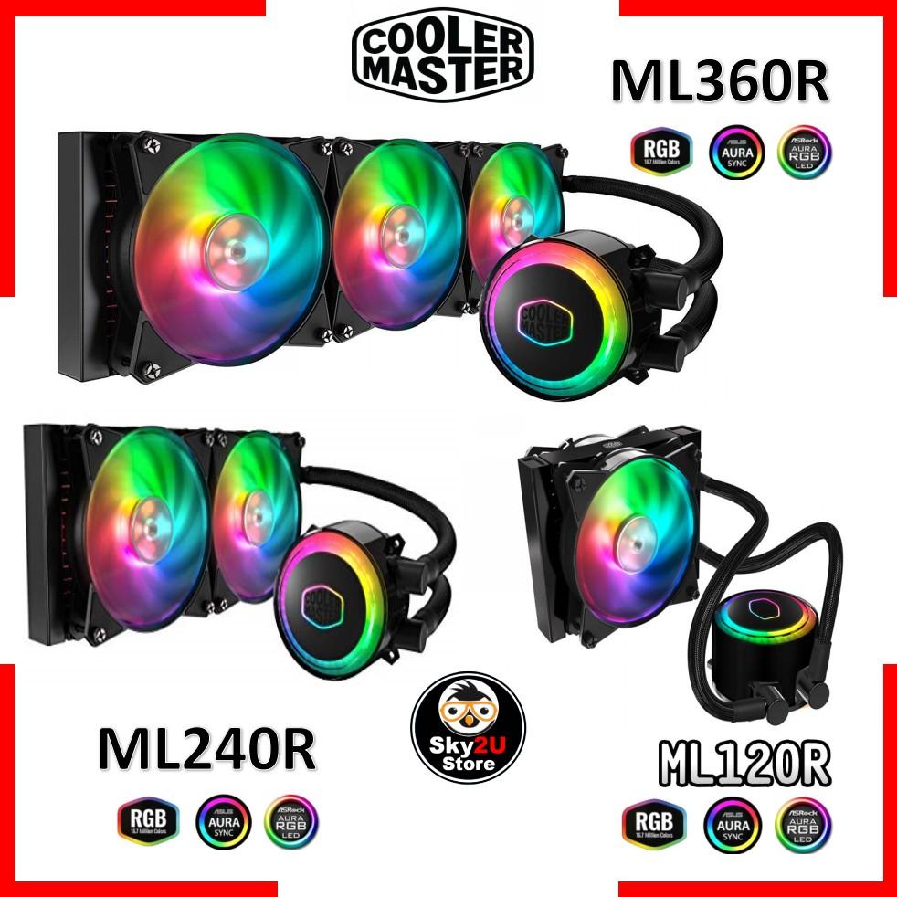 Cooler Master MasterLiquid ML120R/ML240R/ML360R RGB All-in-One CPU Liquid  Cooler