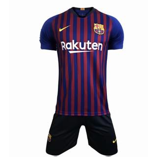 best website 5c26d 9e738 18-19Barcelona home children's jersey Thai quality blue ...