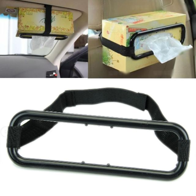 ???????? Tissue Box Holder Portable Car Accessories