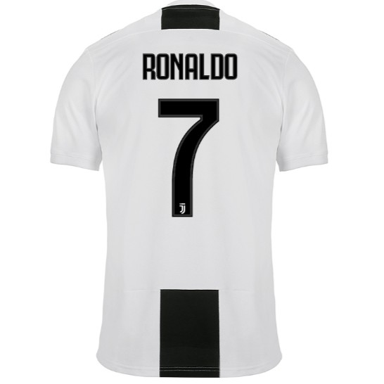 2018-2019 Juventus FC No.7 RONALDO Home Kit Football jersey Soccer jersey  c5be9f162
