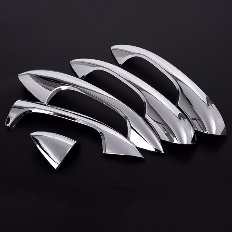 Door Handle Cover Trim Car 4Pcs Set For Mercedes-Benz W205 C180 GLC260