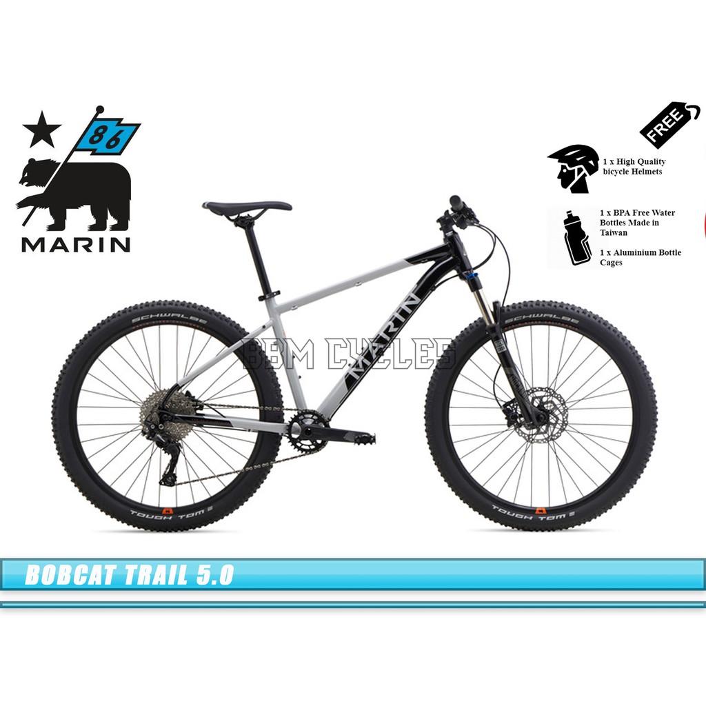 Trail Mountain Bikes >> 2019 Marin Bobcat Trail 5 29er Mountain Bikes Mtb Hardtail Marin Bikes California
