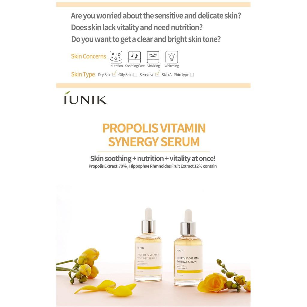 iUNIK Propolis Vitamin Synergy Serum (50ml) | Shopee Malaysia