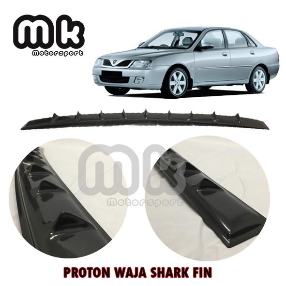 Proton Waja Vortex Generator Shark Fin Aerodynamic Rear Top Roof
