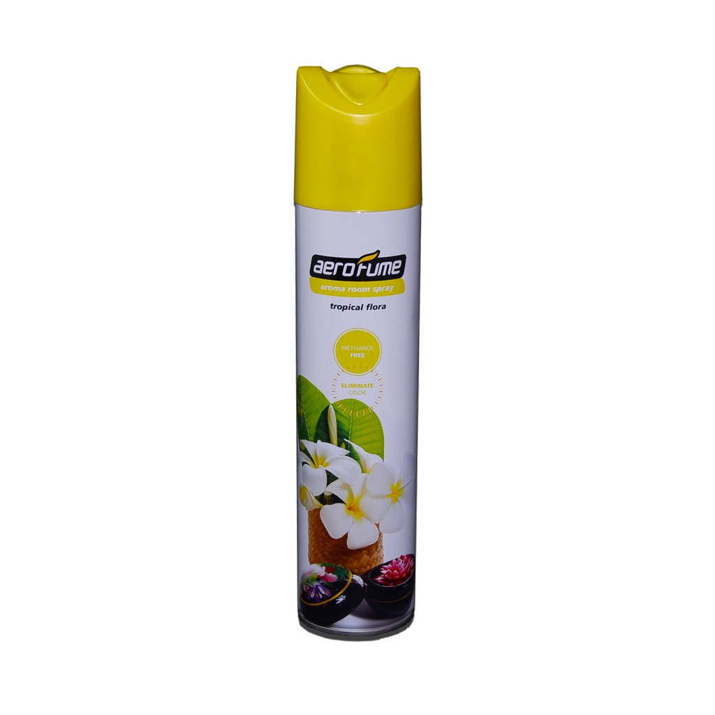 Aerofume Air Freshener Aroma Spray (Tropical Flora)
